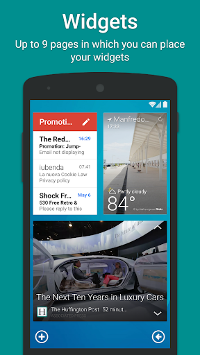Screenshot for Smart Launcher Pro 3 in United States Play Store