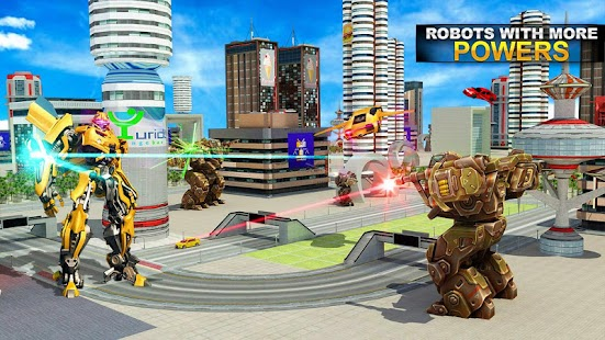 Autobots Robot Car War Screenshots