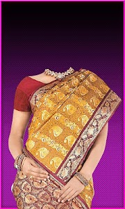 Pattu Saree Photo Suit screenshot 2