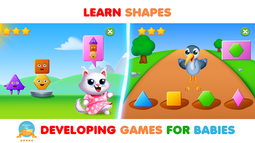 Toddler Learning Games Smart Shapes And Colors  screenshots 6