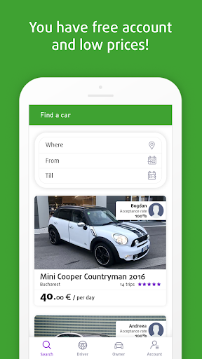 Perpetoo Car Sharing - Rent Directly From Owners screenshot 2
