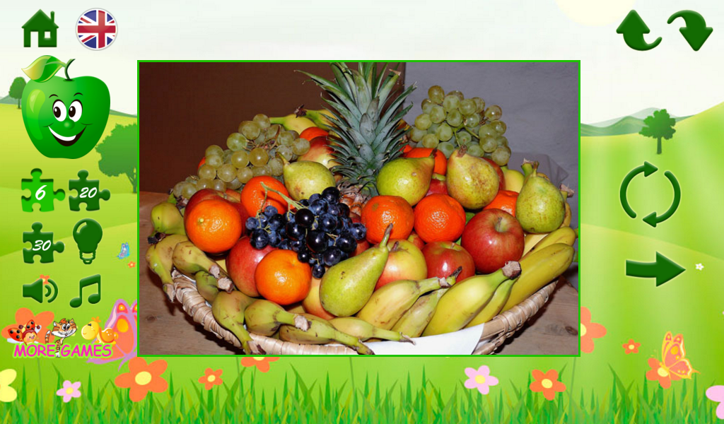 Puzzles fruit- screenshot