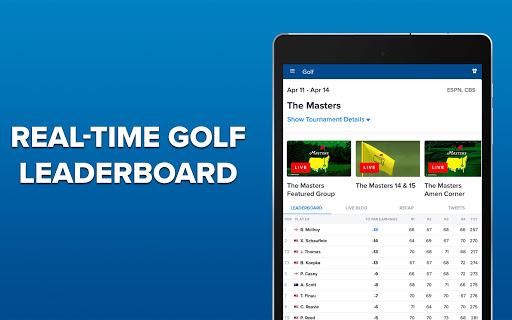CBS Sports App - Scores, News, Stats & Watch Live 9.75 Screenshots 19