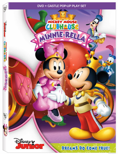 Mickey Mouse Clubhouse: Minnie-rella DVD + Popup Castle Play Set #Disney
