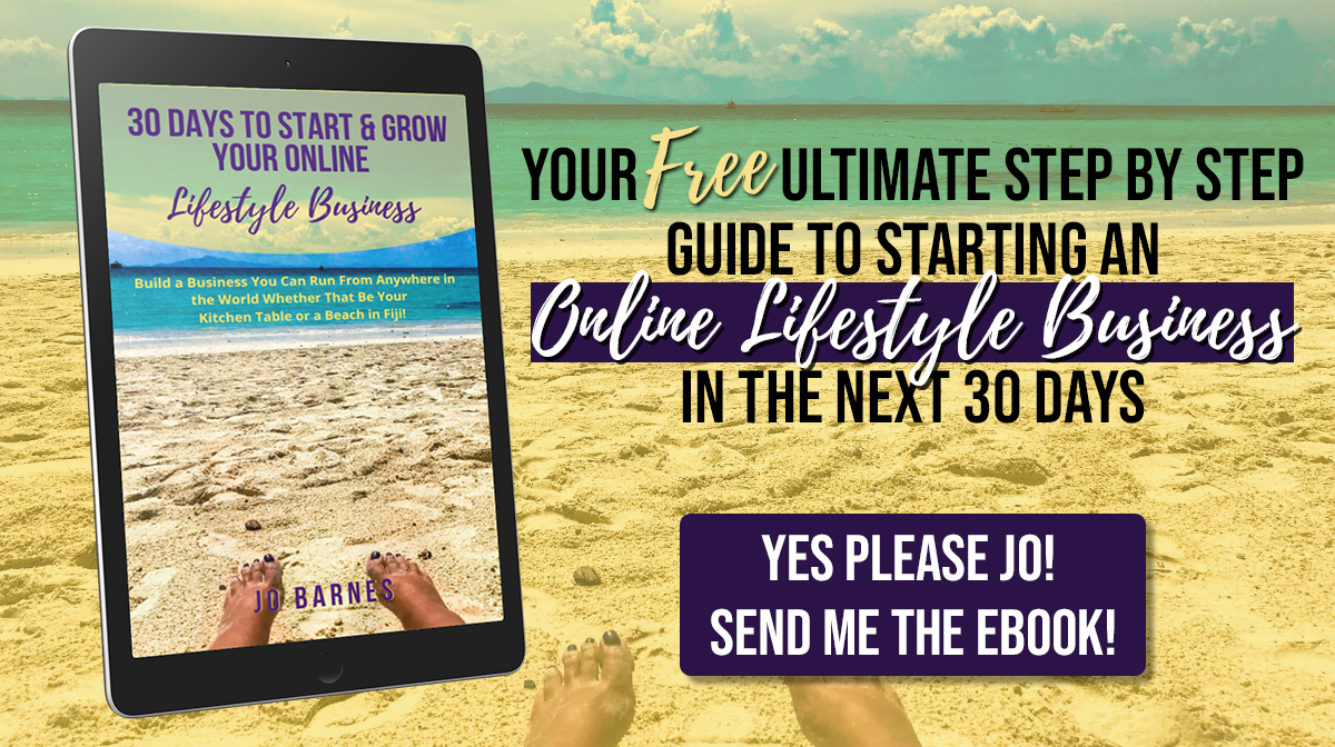 30 Days to Start & Grow Your Online Lifestyle Business