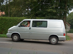 """Photo: Onze fantastische chauffeur Martin volgde ons waar hij kon op de """"voet""""."""