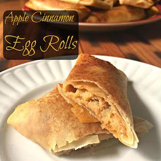 Cinnamon Apple Egg Rolls