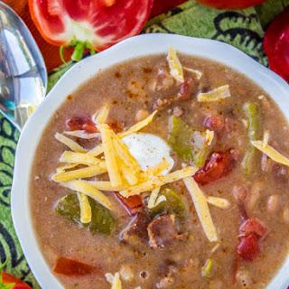 Cowboy Pinto Bean Soup (Slow Cooker)