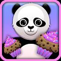 Geometry Panda Cupcakes Lock icon