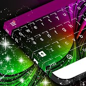 Neon Burst Keyboard Skin