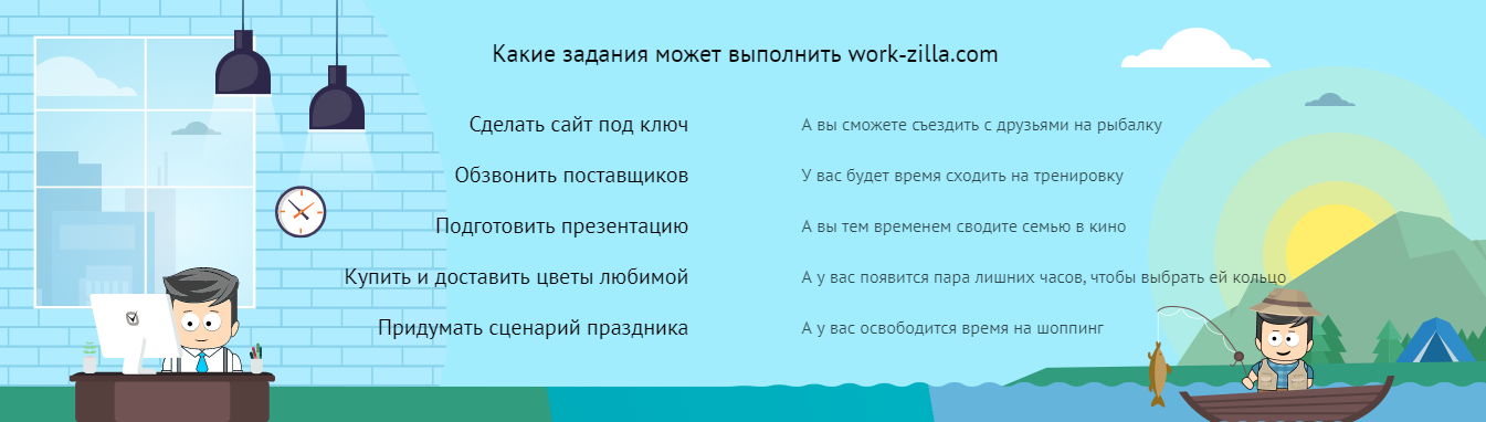 задания на Work-zilla.com биржа фриланса  для новичков