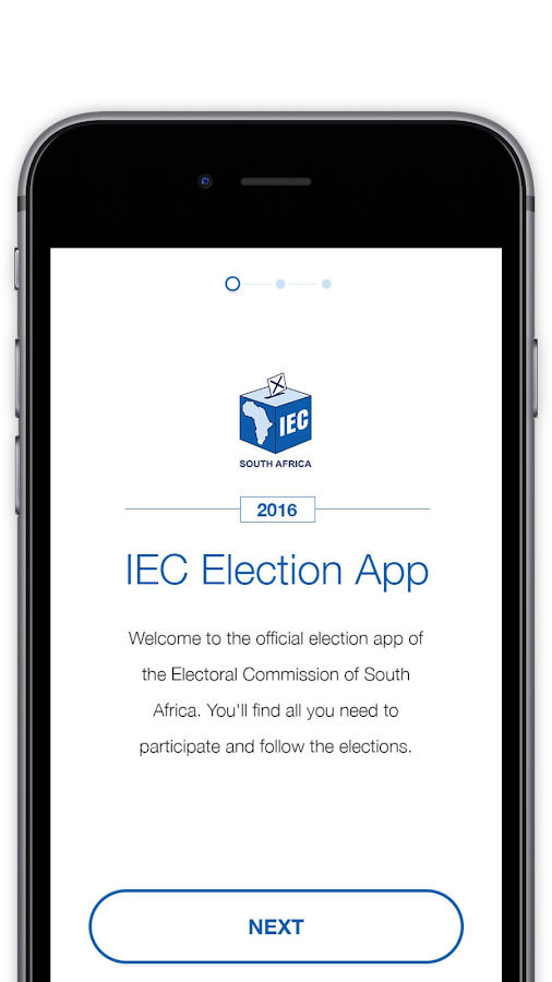 IEC South Africa- screenshot
