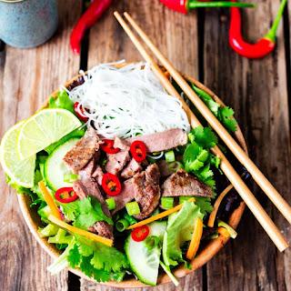 Vietnamese Steak Salad.