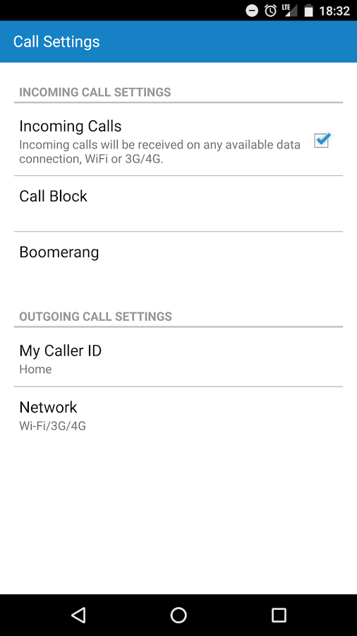 Vonage Home Extensions - VoIP- screenshot