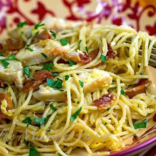 Chicken Carbonara Pasta Recipes.