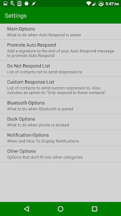 Auto Respond Free- screenshot thumbnail