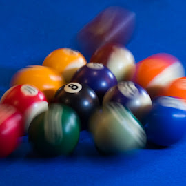 8 Ball by Adriaan Vlok - Sports & Fitness Cue sports ( pool, break pool, 8 ball )