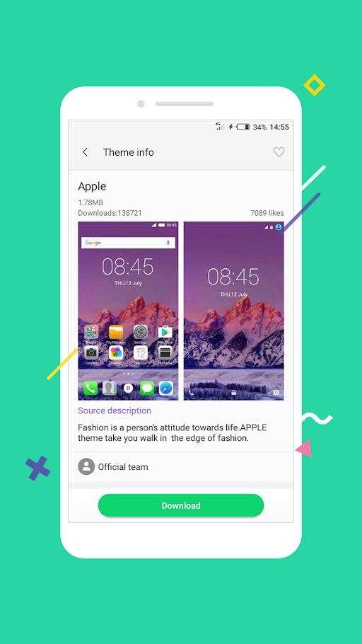 XOS - Launcher,Theme,Wallpaper APK 3.6.15 screenshots 3