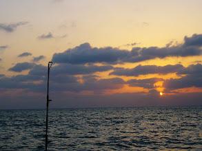 Photo: 2月も今日で終わりで・・。 いよいよ春ですねー! がんばって釣りまっせ! 「チーム三菱+1」