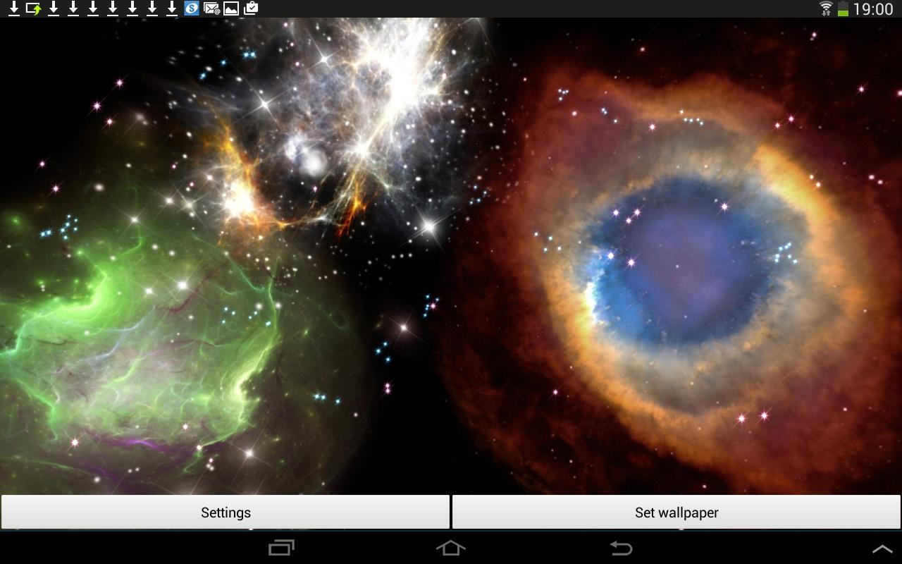 3D Space Live Wallpaper Full- screenshot