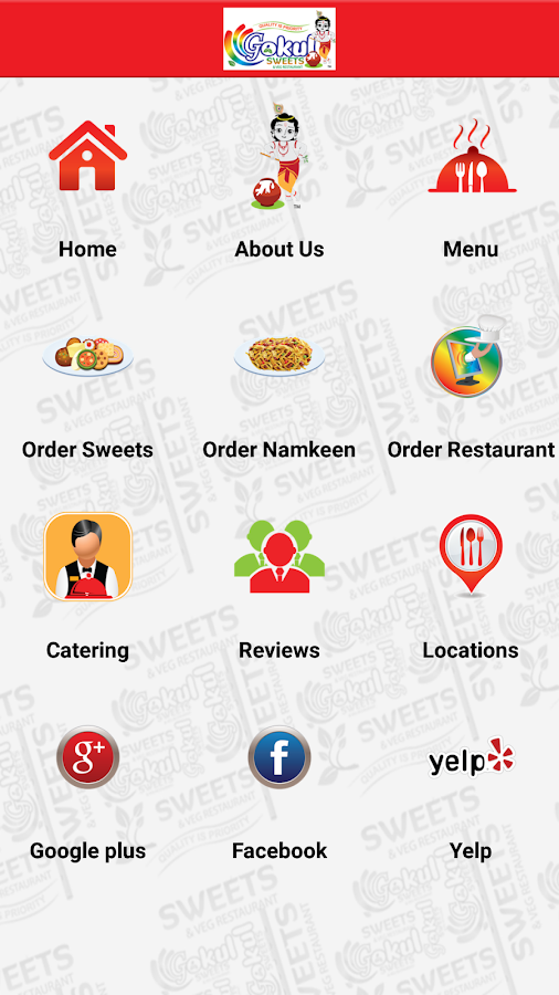 Gokul Sweets- screenshot