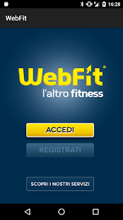 WebFit- miniatura screenshot