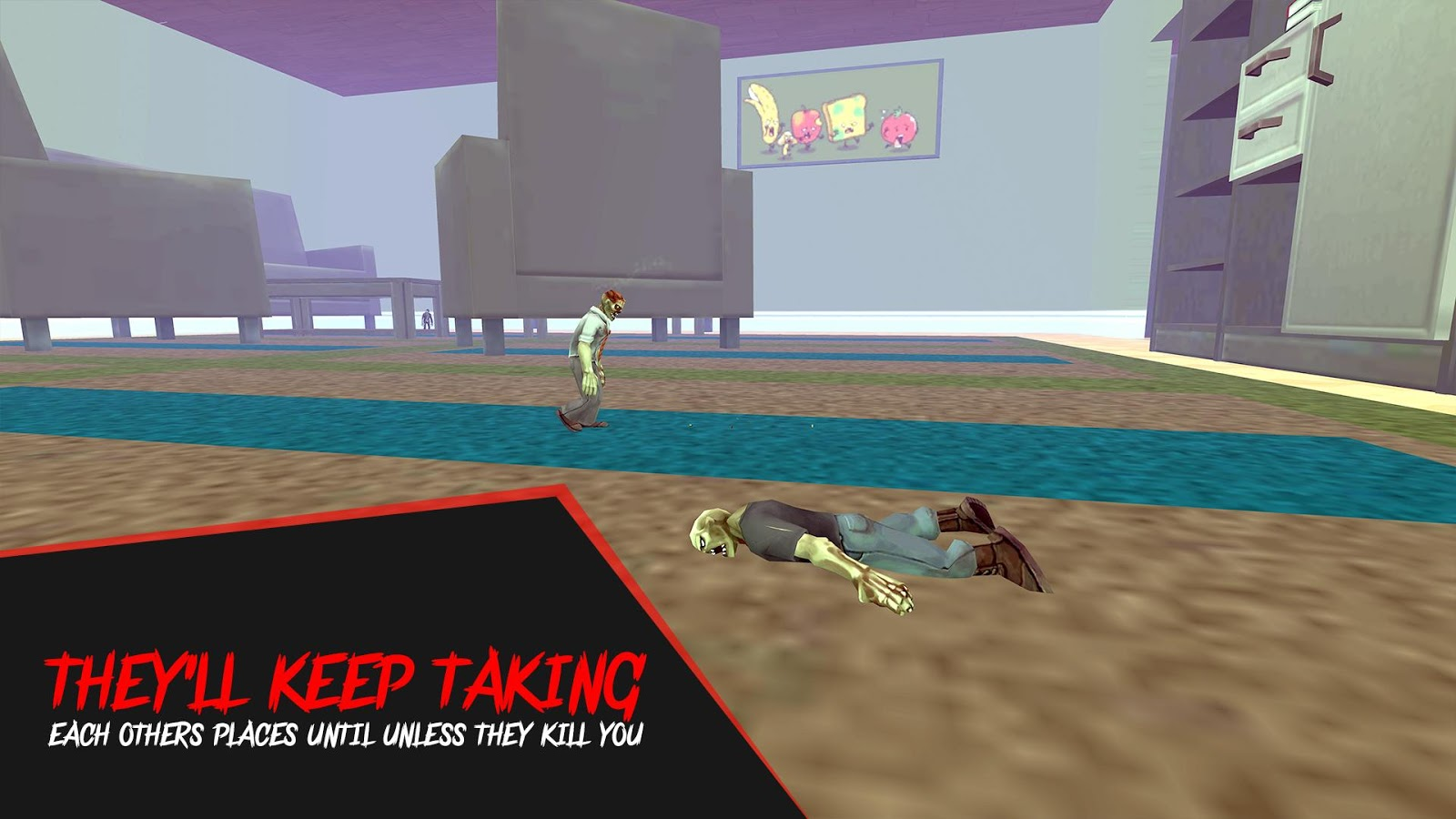 Funny Little Zombies - FPS Zombie Shooter Game- screenshot
