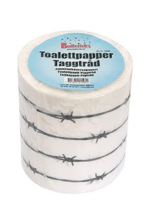 Toalettpapper, taggtråd