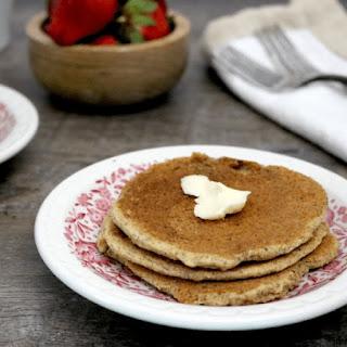 Low Carb Vegan Pancakes (gluten free, egg free, dairy free, soy free).