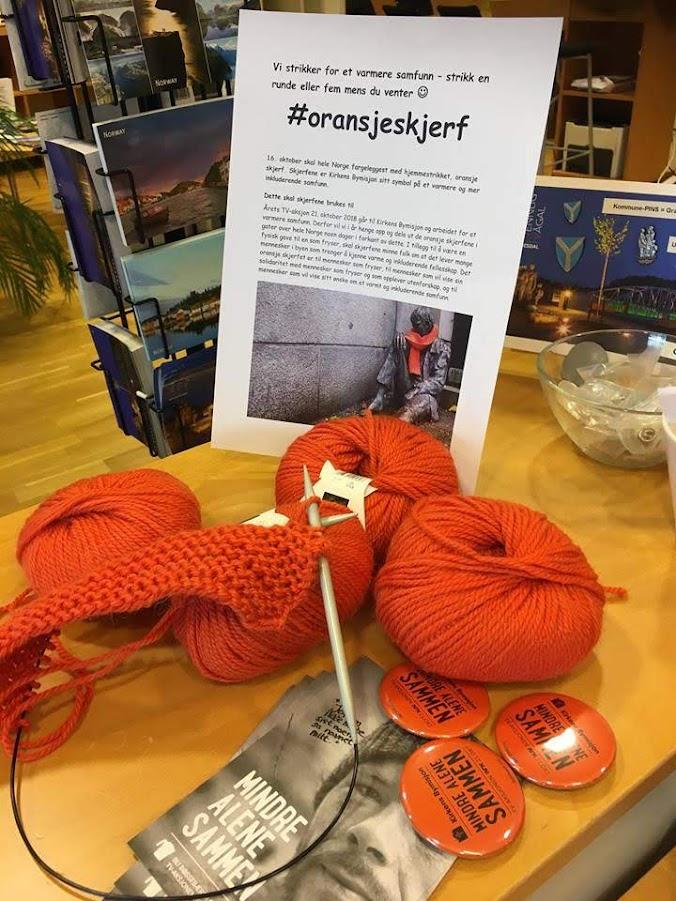 Bilde av strikketøy