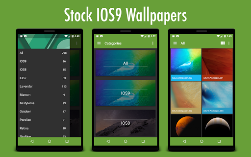 Stock IOS9 Wallpapers