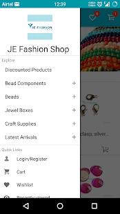 JE Fashion Shop - náhled