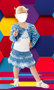 Kids Fashion Photo Montage - náhled
