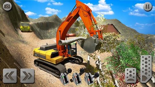 Sand Excavator Truck Driving Rescue Simulator game 6