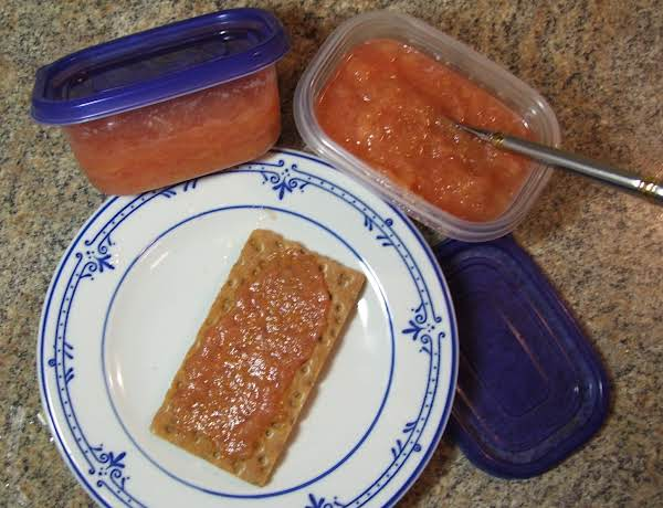 Rhubarb Butter Without Canning Recipe