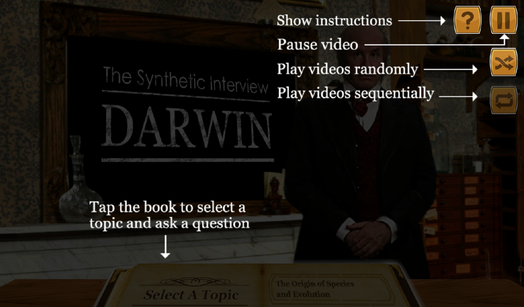 Charles Darwin Interview Lite - Android Apps on Google Play