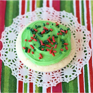 Easy Christmas Cake Mix Cookie