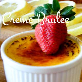 Lemon Creme Brulee Recipe