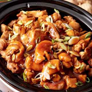 Slow Cooker Honey Teriyaki Chicken.