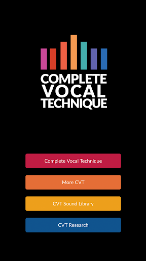 Complete Vocal Technique screenshot