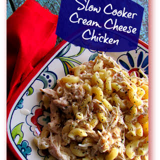 Slow Cooker Cream Cheese Chicken Casserole.