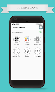 Assistive touch for Phone 7 - OS 10 - náhled