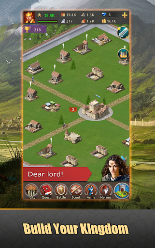 Lords of Kingdoms - medieval imperia mobile online 1.5.2 screenshots 1