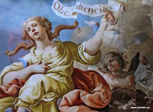 Photo: 01.06.2014.- SALVEMOS LA CARTUJA DE LA FUENTES. Presentación- Exposición de ArteMonegros. Obra de Julio Molina