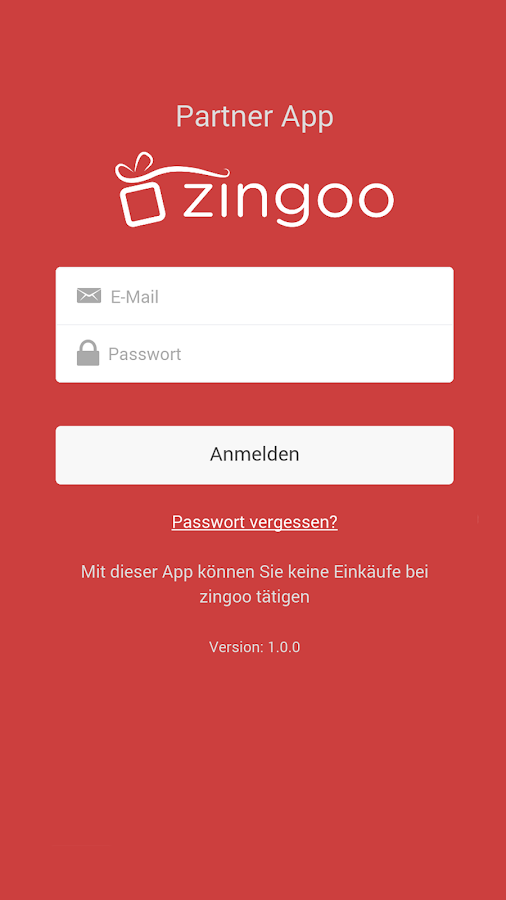 zingoo Partner App- screenshot