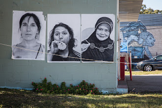Photo: East Austin Street Art  Inside Out Project and Broken Crow http://www.insideoutproject.net/ http://www.brokencrow.com/  #streetartsunday curated by +Peter Tsai+Luís Pedro+Mark Seymour  #graffiti  #wheatpaste #streetart #Austin  #art #Texas