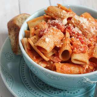 Chicken & Hot Pepper Rigatoni #epicurious #outofthekitchen