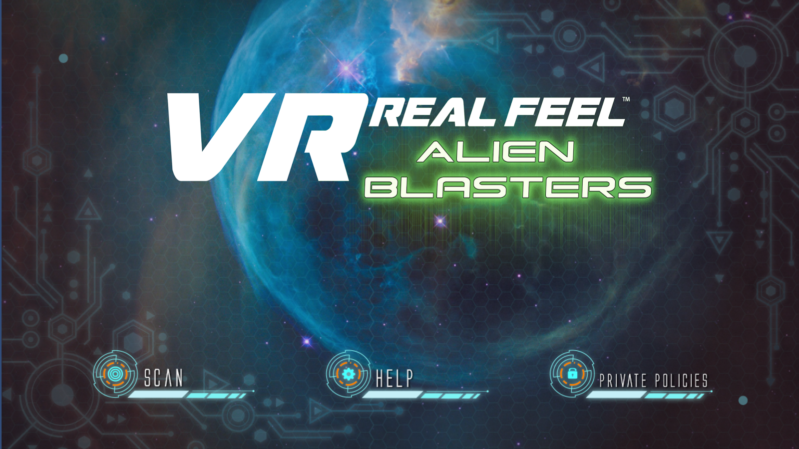 VR Real Feel Alien Blasters- screenshot