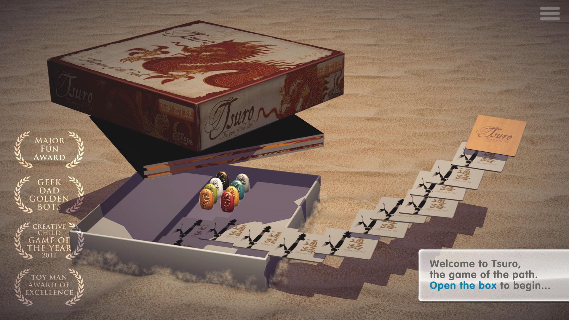 Tsuro - The Game of the Path screenshot #1