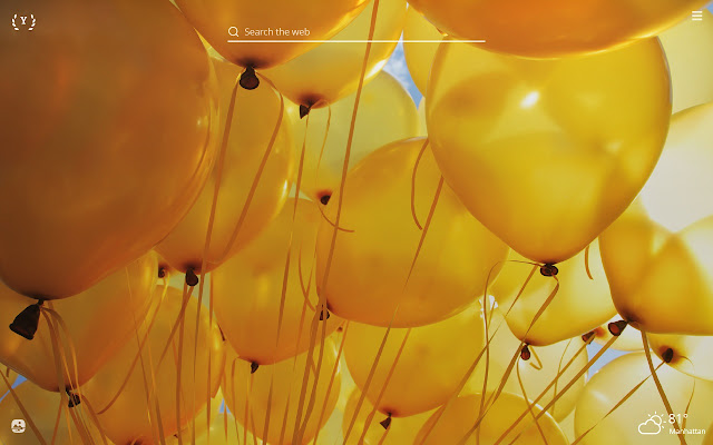 Happy Yellow HD Wallpapers New Tab Theme